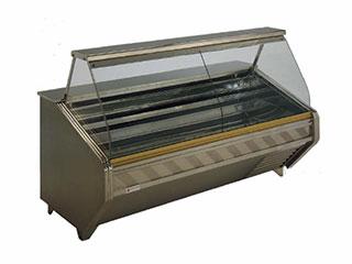 Vitrinas frigoríficas charcuteras/carniceras (cristal curvo)
